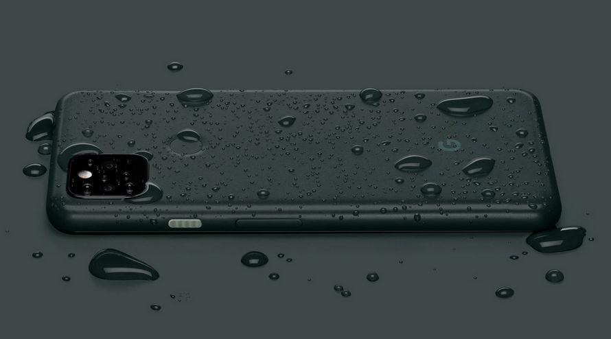 Çift kameralı Google Pixel 5a 5G su geçirmez akıllı telefon