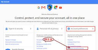 Cara Menghapus Akun Google Via PC