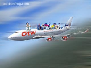 gambar mudik naik pesawat lucu gokil