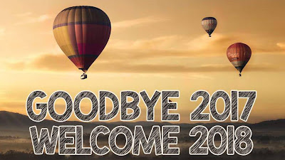Good Bye 2017 And Welcome 2018 HD Image Download