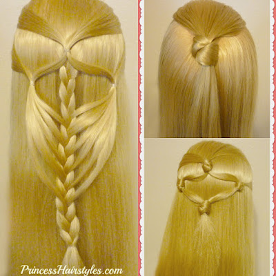 3 cute and easy half up hairstyles for #backtoschool