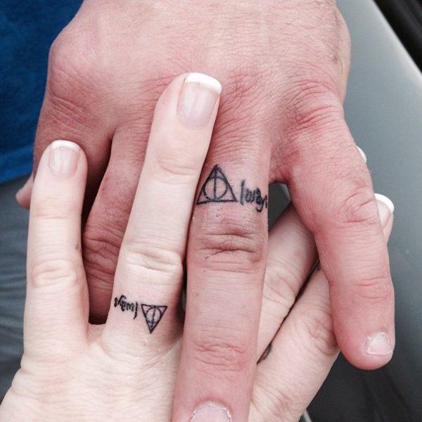 Tatuajes De Anillos Para Parejas Tu Tatuaje