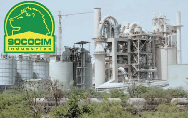 La Sococim, fleuron historique de l'industrie sénégalaise : SOCOCIM, Industries, cimenterie, projet, produit, sac, ciment, Construction, développement, LEUKSENEGAL, Dakar, Sénégal, Afrique