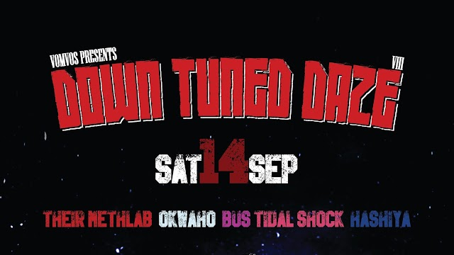 [News] Down Tuned Daze Vol.8 [14.Sept.'19]