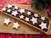 Маслен тарт с шоколадов крем пудинг * Torta di frolla con crema al cioccolato