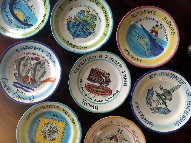 Buon Ricordi Plates