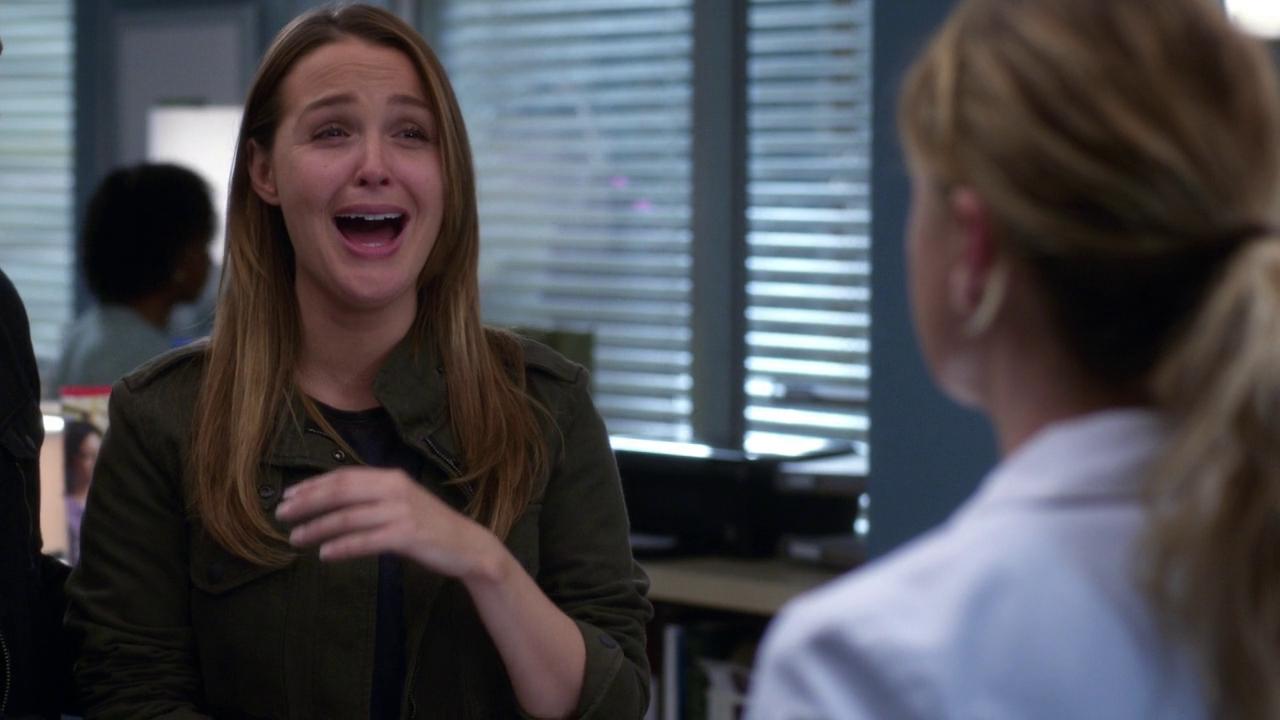 Grey's Anatomy 14x10 Personal Jesus Jo Laughing