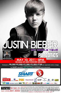 Justin Bieber: Live In Manila, The My World Tour