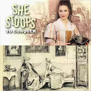 She Stoops To Conquer by Goldsmith is generally considered as a reaction against sentimental comedy.