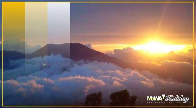 Sunset biru yogyakarta