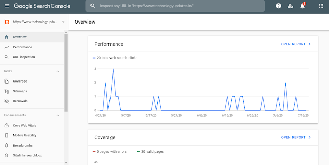 Submit Site in Google Search Console