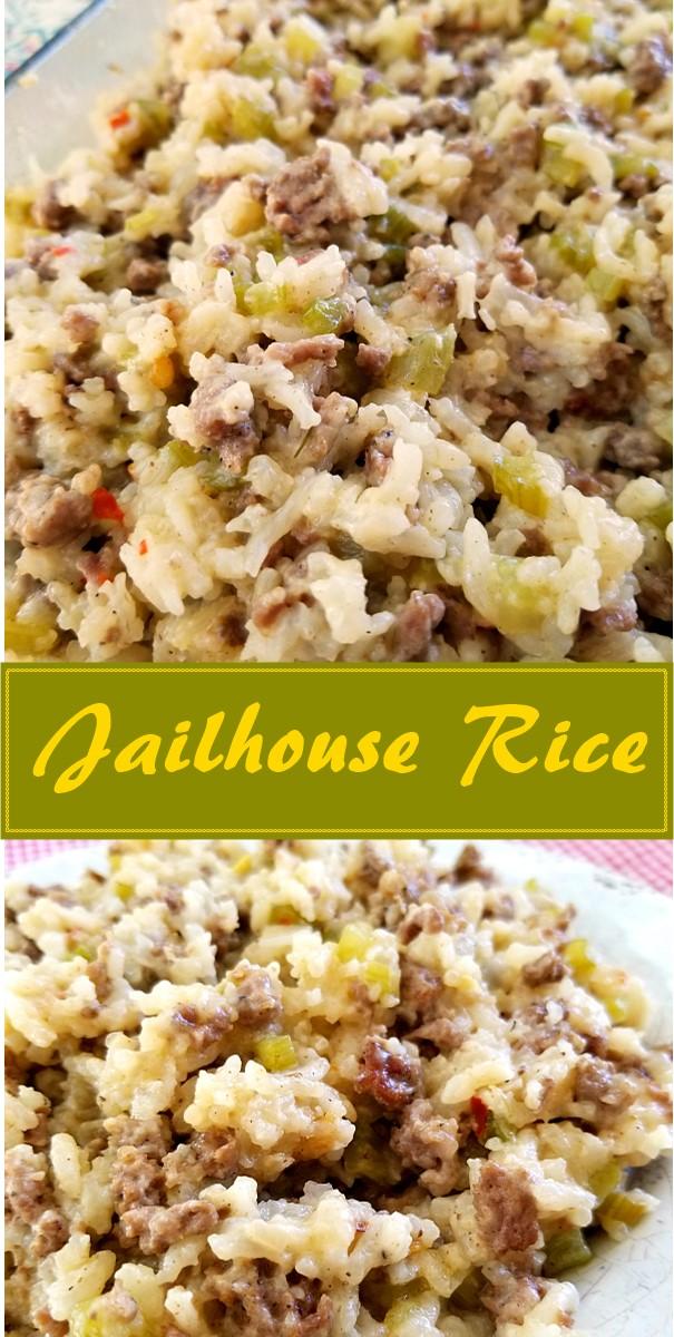 Jailhouse Rice #dinnerrecipes