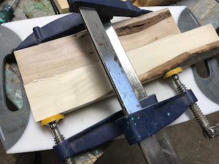 Gluing 2 inch wide maple together