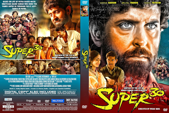 Super 30 DVD Cover