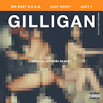 D.R.A.M. - Gilligan (feat. A$AP Rocky & Juicy J) - Single Cover