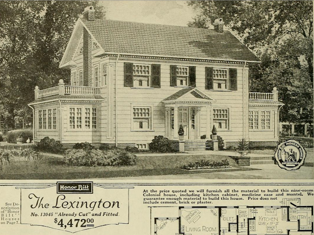 catalog image of Sears Lexington early model