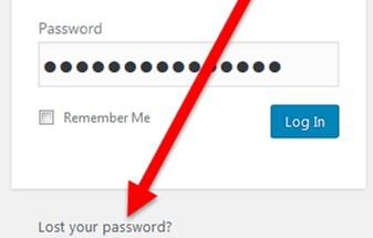 perdio su contraseña-lost password