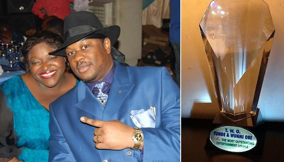 tunde wunmi obe couple awards