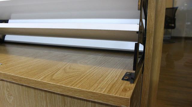 Tủ giày với thiết kế cánh lật