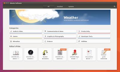 Ubuntu Software 17.04