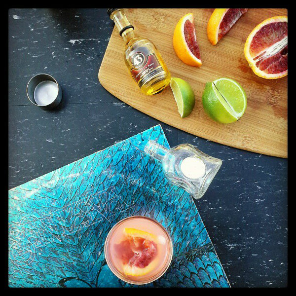 <b>El Beso de Luz Margarita</b> + <b>@Casa_Noble Tequila</b> {I'll Drink to That}