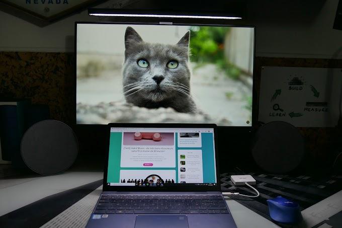BenQ ScreenBar : la lampe de bureau qui vous rend plus efficace !