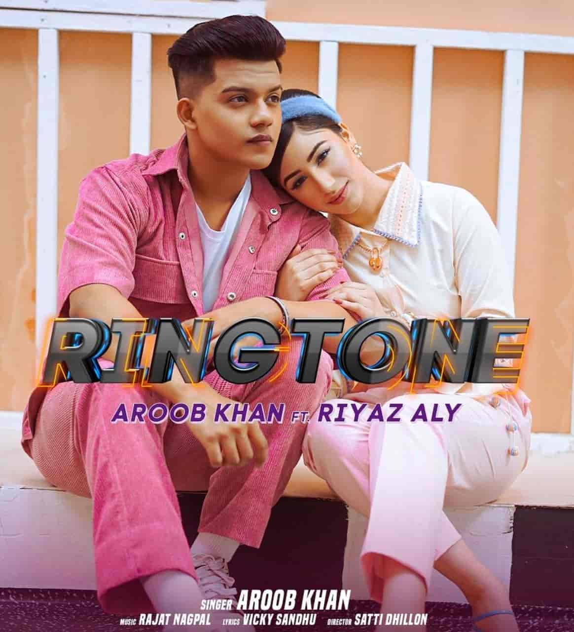 Ringtone Song Image Features Aroob Khan And Riyaz Aly