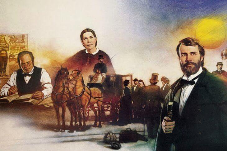 Imagem com alguns pioneiros adventistas