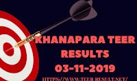 Khanapara Teer Results Today-03-11-2019