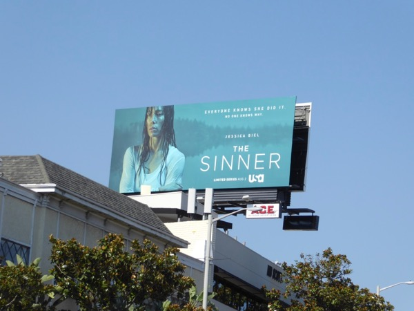Sinner USA series billboard