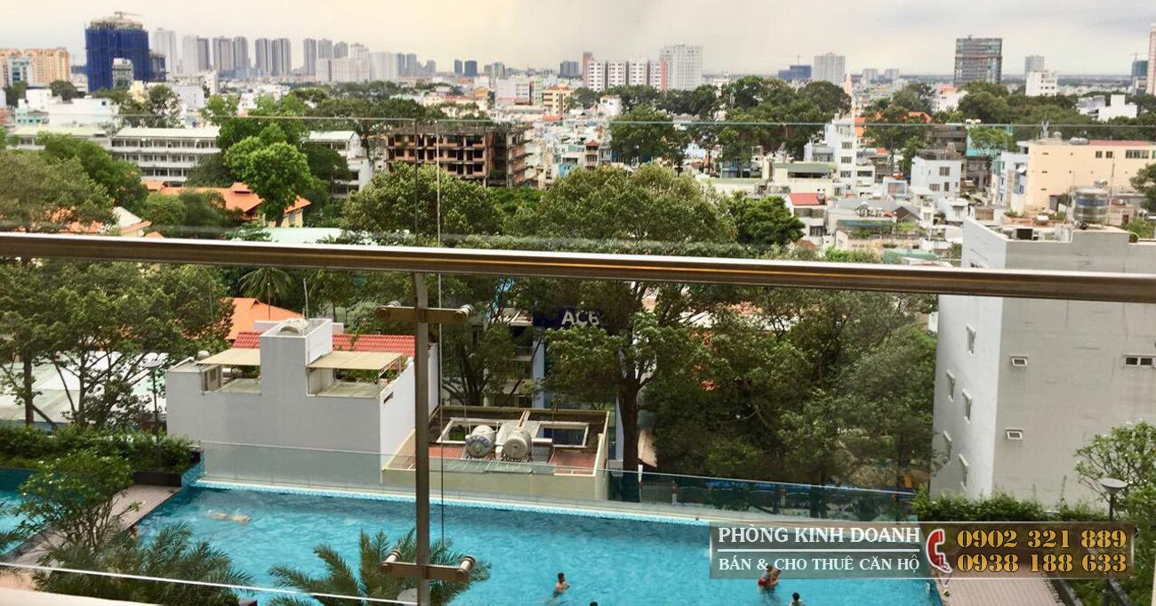 hồ bơi căn hộ everrich infinity quận 5 - ảnh thực tế