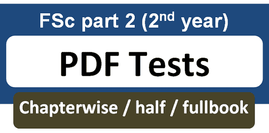 fsc part 2 2nd year pdf tests chapterwise