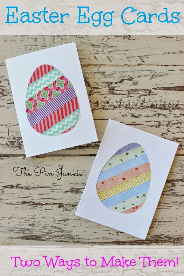 easter egg cards two ways to make