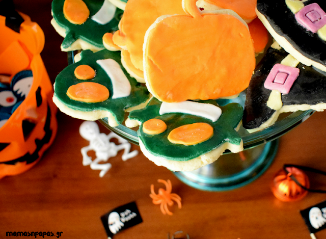 HALLOWEEN SUGARPASTE COOKIES