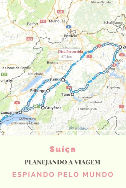 Planejando a Suíça