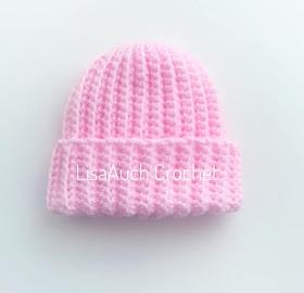 free crochet patterns newborn hats for hospitals