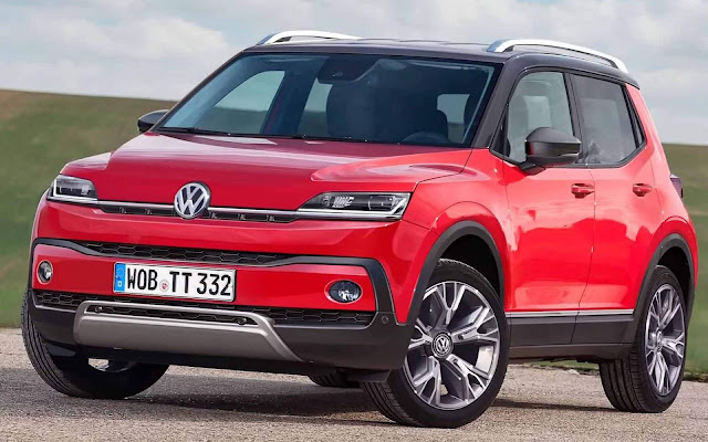 Novo Volkswagen T-Track: SUV do Up!