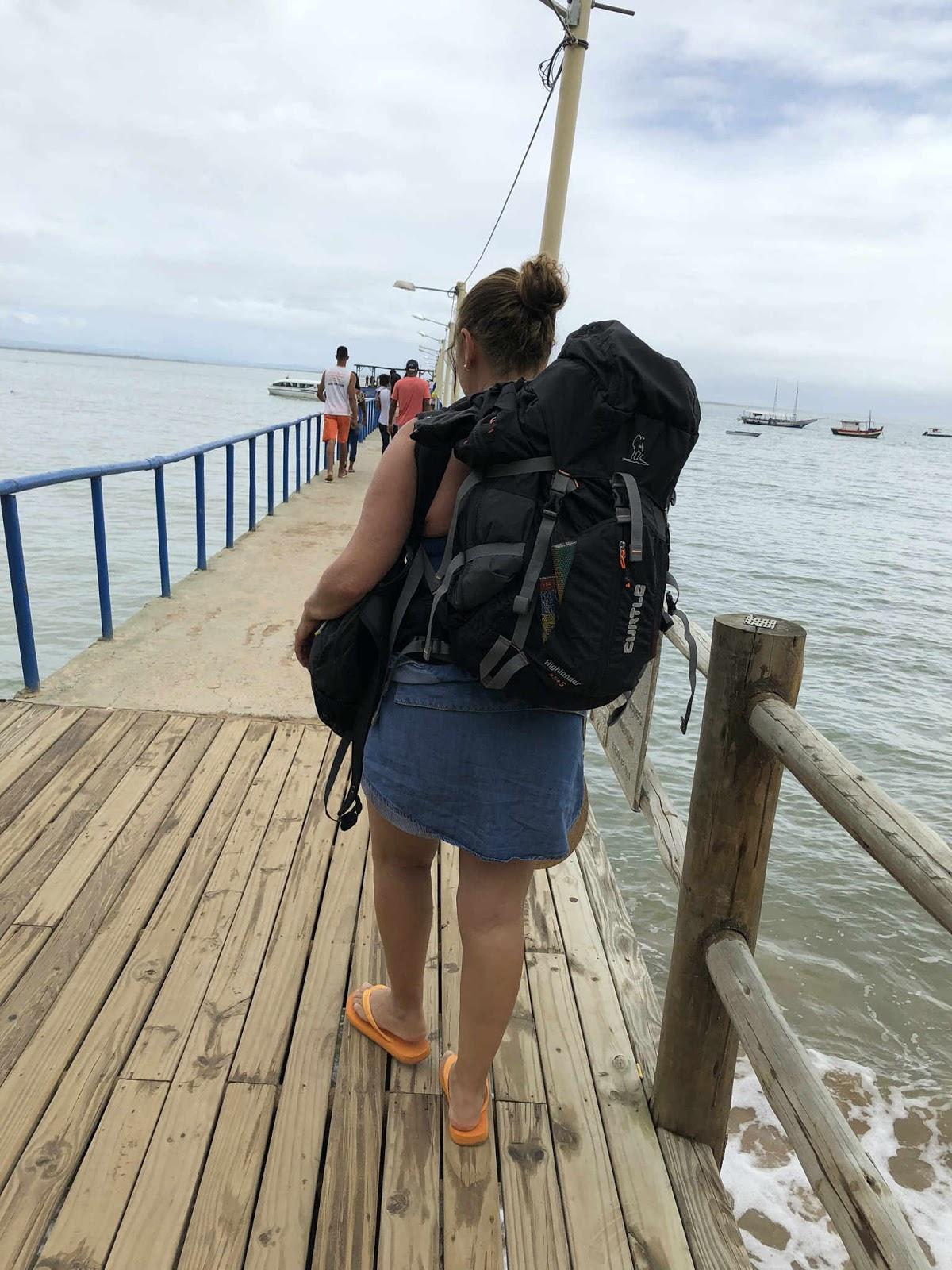 Pier Barra Grande - Península de Maraú