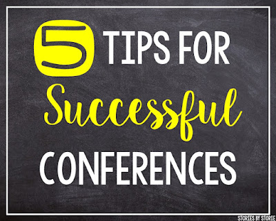 Conferences are a great time to connect with families, but they can be stressful! Here are 5 tips to prepare you for successful conferences.