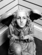Figura de un angel que suplica
