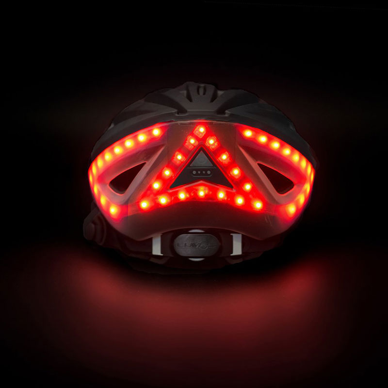 Lumos A Bicycle Helmet With Turn Signals And Brake Lights