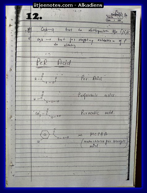 Alkadiens Notes1