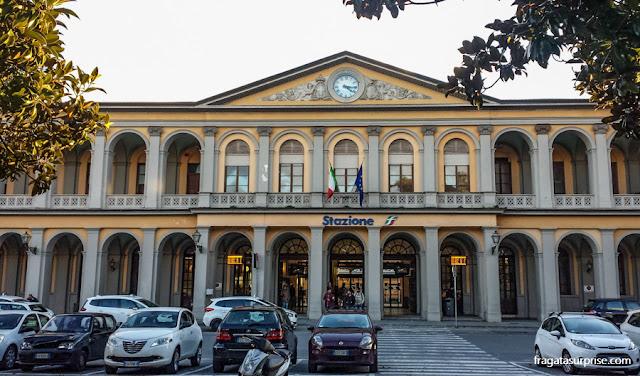Estação Ferroviária de Lucca, Toscana, Itália