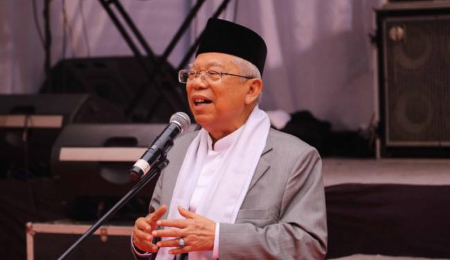Maruf Amin Gunakan Gaya Tausiah Dalam Berdebat Nanti