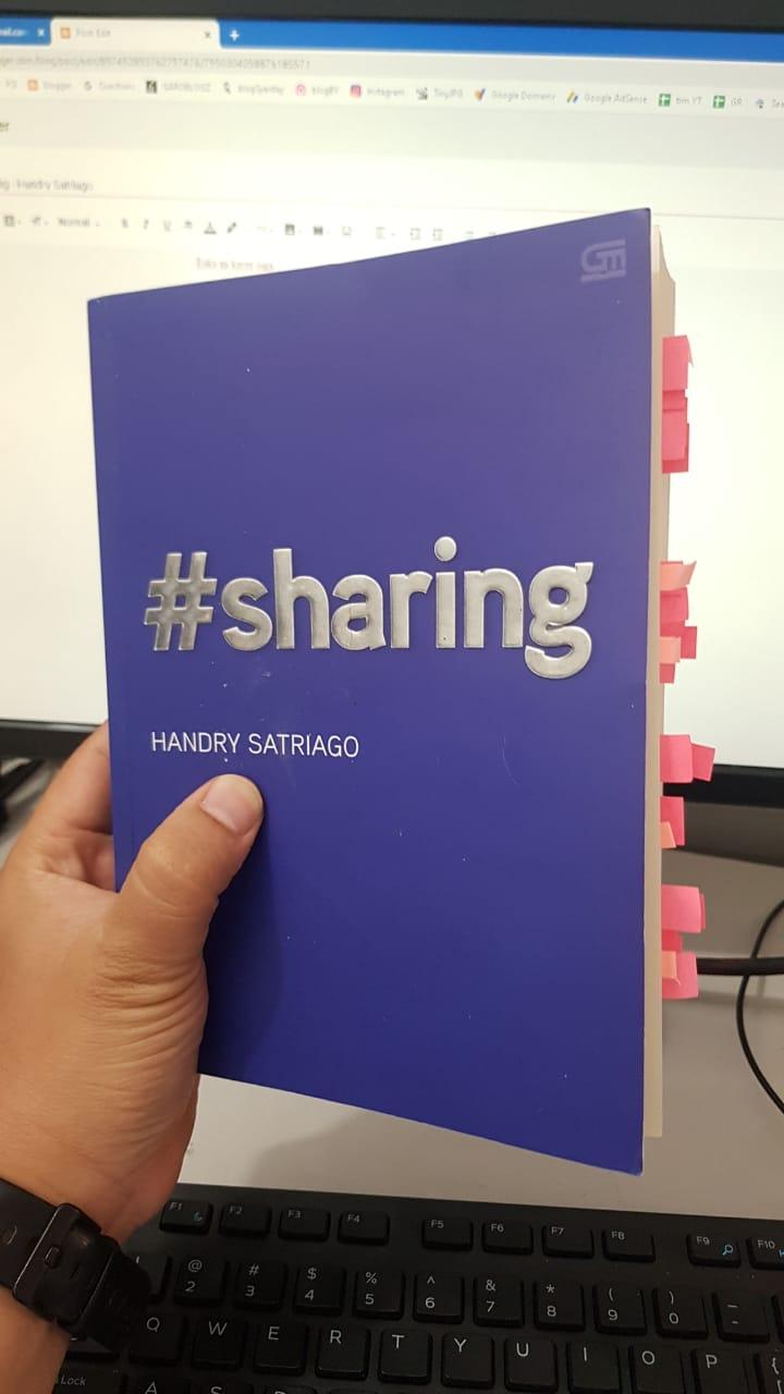 Buku #Sharing by Handry Satriago