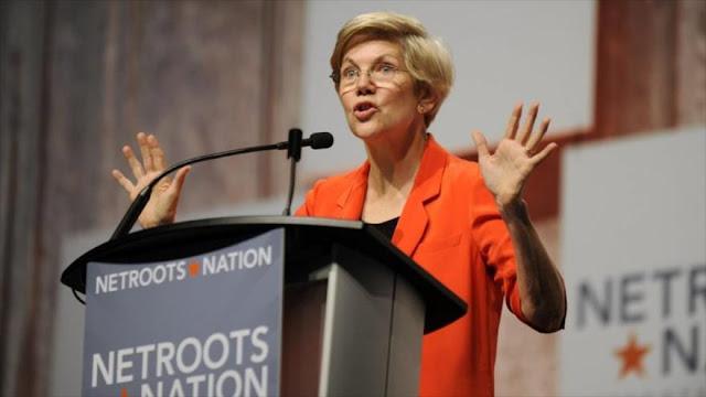 """Trump vuelve a insultar a una senadora llamándola """"Pocahontas"""""""