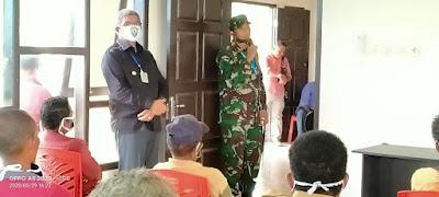 Saat pelaksanaan Sosialisasi di Kecamatan Hoat sorbay Kabupaten Maluku Tenggara