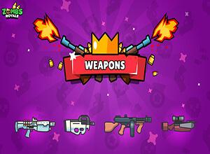 ZombsRoyale.io Weapon List