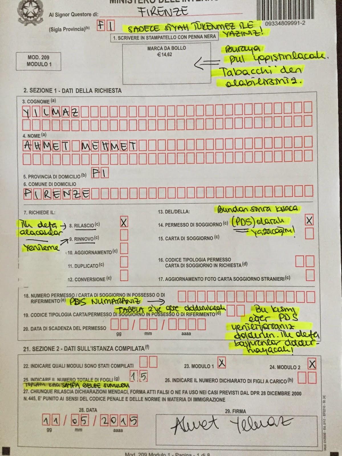 aggiornare il modulo della carta di cittadinanza canadese ...