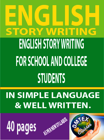 ENGLISH STORY WRITING FOR SCHOOL STUDENTS